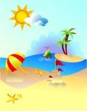Paquete 3 del verano Imágenes de archivo libres de regalías
