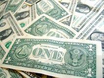 PAQUETE americano del dólar fotografía de archivo