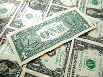 PAQUETE americano del dólar fotografía de archivo libre de regalías