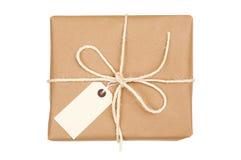 Paquete atado con la cadena Fotografía de archivo libre de regalías