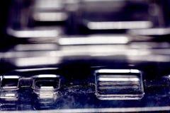 Paquete de ampolla plástico para el microprocesador del almacenamiento Imagenes de archivo
