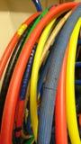 Paquete de aros del hula Foto de archivo