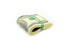 Paquete de dólares Foto de archivo libre de regalías