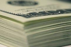 Paquete de dólares Foto de archivo