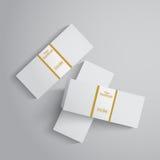Paquete de dinero Fotografía de archivo libre de regalías