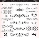 Elementos caligráficos 02 del diseño ilustración del vector