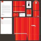 Paquete de la identidad corporativa Foto de archivo libre de regalías