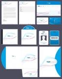 Paquete de la identidad corporativa Imagen de archivo libre de regalías