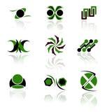 Paquete de la insignia Imagen de archivo libre de regalías