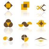 Paquete de la insignia Imagenes de archivo