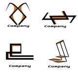 Paquete de la insignia de la compañía ilustración del vector