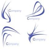 paquete de la insignia de la compañía libre illustration