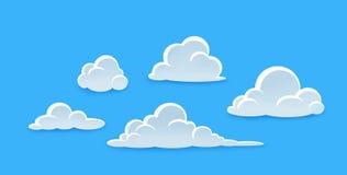 Paquete de la nube Foto de archivo libre de regalías
