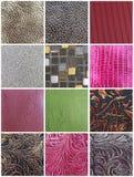 Paquete de las texturas Imagen de archivo