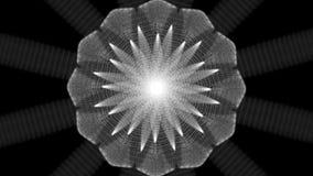 Paquete de lazos cósmicos de la flor stock de ilustración