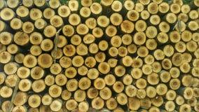 Paquete de madera Foto de archivo libre de regalías