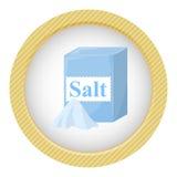 Paquete de sal Fotografía de archivo libre de regalías