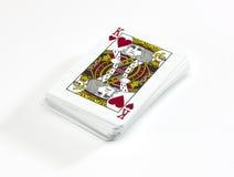 Paquete de tarjetas Foto de archivo