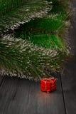 Paquete del día de fiesta de la decoración del Año Nuevo, partido Fotos de archivo libres de regalías