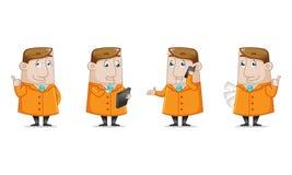 Paquete del icono del negocio Imagen de archivo