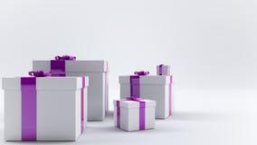 Paquete del regalo Imagen de archivo