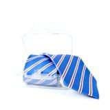 Paquete del regalo de la corbata Fotografía de archivo
