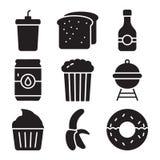 Paquete del vector de los alimentos libre illustration