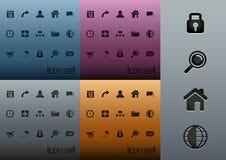 Paquete limpio del icono del Web 2.0