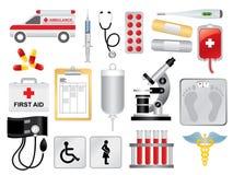 Paquete médico Fotografía de archivo libre de regalías