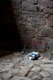 Paquete vacío del cigarrillo Foto de archivo libre de regalías