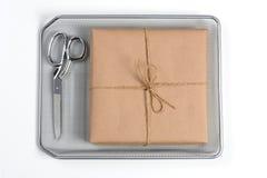 Paquete y tijeras Mesh Tray Fotos de archivo