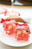 Paquetes chinos del baño de burbuja foto de archivo libre de regalías