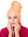 Paquetes cosméticos imagen de archivo