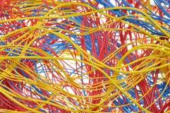 Paquetes de alambres coloridos Fotografía de archivo libre de regalías