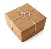 Paquetes de Brown Fotografía de archivo libre de regalías