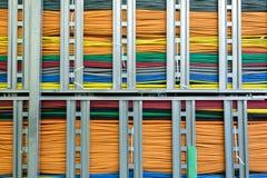 Paquetes de cable de la red Fotos de archivo libres de regalías