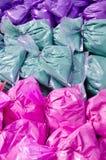 Paquetes de color orgánico Foto de archivo libre de regalías
