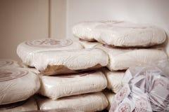 Paquetes de drogas Imagen de archivo libre de regalías