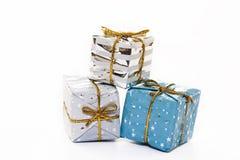 Paquetes de la Navidad imagenes de archivo