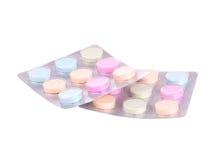 Paquetes de píldoras Imagen de archivo libre de regalías