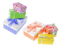 Paquetes del regalo Fotografía de archivo libre de regalías