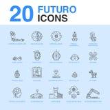 20 paquets d'icône d'intelligence artificielle
