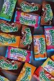 Paquets de Mamba, édition limitée, d'isolement images libres de droits