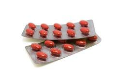 Paquets de pillules médicales Photo libre de droits