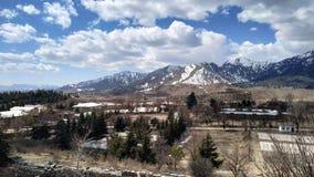 Paquistão bonito, o céu na terra awesome foto de stock royalty free