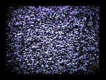 Parásitos atmosféricos de la TV Fotos de archivo libres de regalías