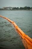 Paréntesis de Pensacola para el derramamiento de petróleo del punto de ebullición Foto de archivo libre de regalías