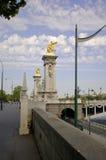 París 12, batería izquierda, Seine Foto de archivo