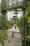 París 20, el foro Fotos de archivo libres de regalías