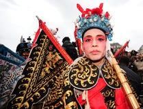 París - Año Nuevo chino 2012 Fotos de archivo